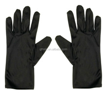 Soft black or white microfiber jewelry gloves