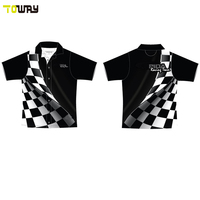 design your own short sleeve sublimation motocross jerseys