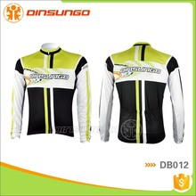 Cycling Sublimation Print Custom Long Sleeves Moisture Wicking UV Protective Fast Drying Jersey Cycling Wear