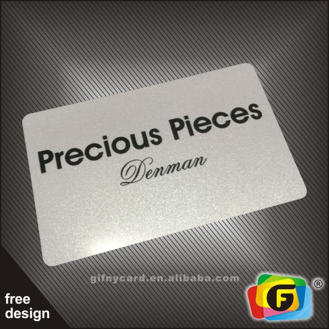High Quality CR80 Pre-printed PVC Loyalty Cards