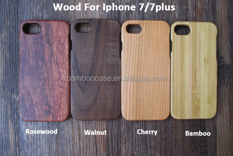 Nature Total Wood Hard Back Case Cover For Iphone Real Wooden Bamboo Mobile Phone Cases For Iphone 6