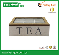 six-pack wooden tea gift box packaging gift box