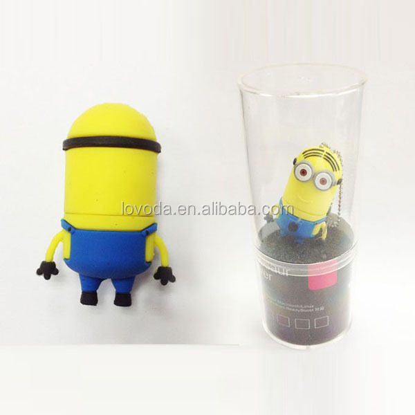 Buy Newest style wholesale alibaba full capacity Despicable Me usb stick funny, minion usb pen drive at alibaba stock price
