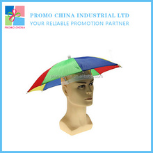 Cheap Folding Promotional Head Umbrella