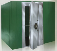 Large capacity steel security treasury cabinet bank vault room