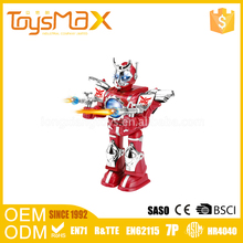 Chinese toy manufacturers plastic battery operated educational robot for children