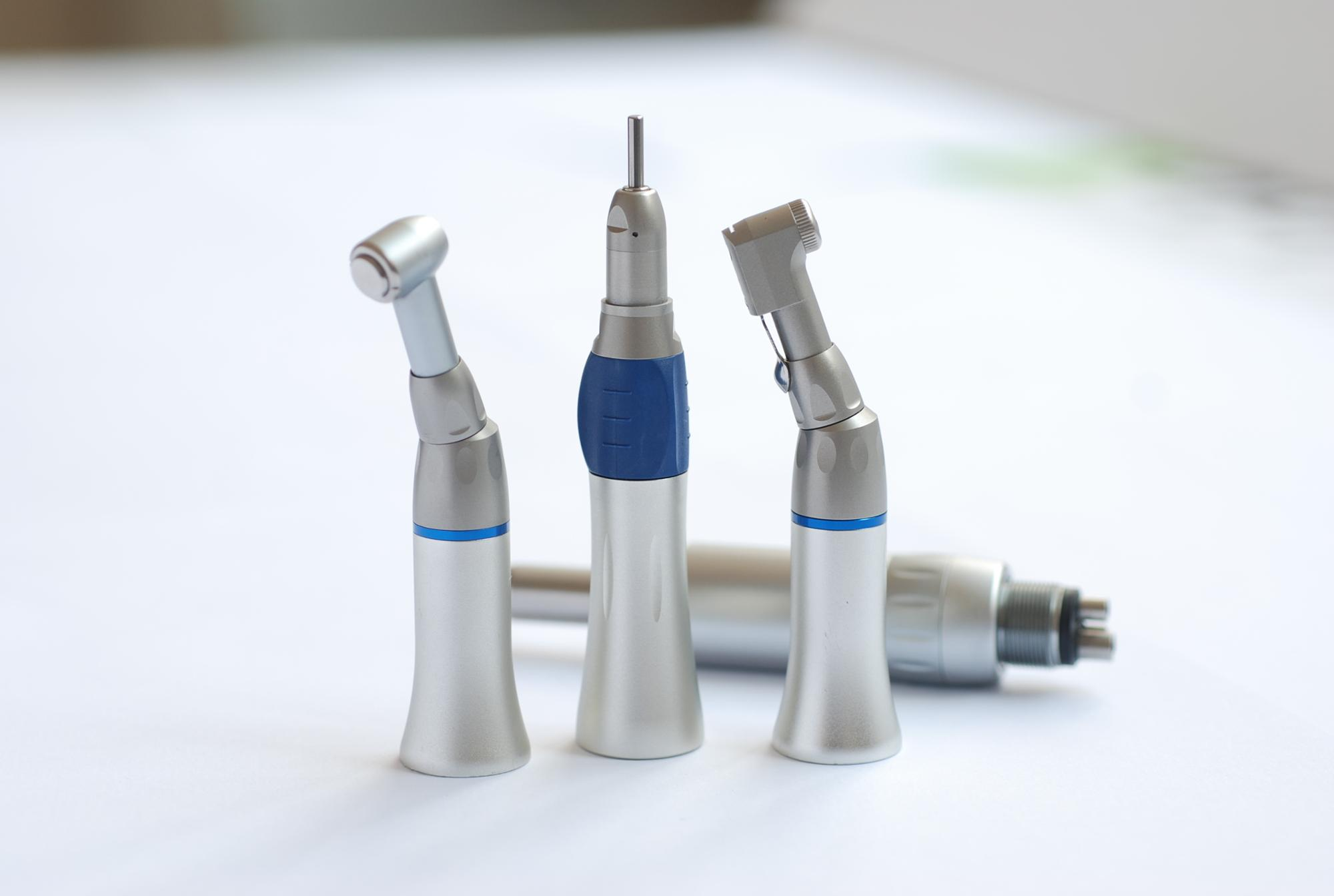 High And Low Speed Handpiece Set Low Speed Micromotor And Nose Cone Handpiece Nac-e High Speed Wrench Type Handpiece