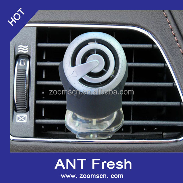 China manufactory glass bottle car vent air freshener