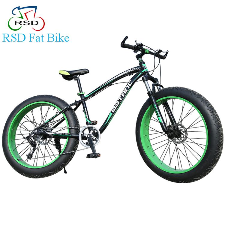 7 Speed Beach Fat Bike Carbon Fibre Frame Fat Bicycle Fat Bike