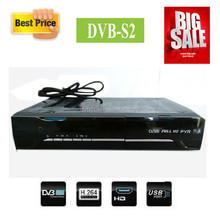 Factory price dvb-s2 set top box space satellite receiver RF port for south africa