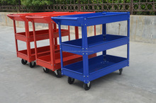 three layer service cart types of service tools hand cart / Trolley
