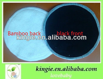 colorful breast pad,bamboo nursing pad, reuasble milk pad
