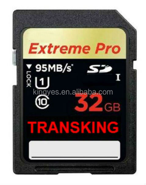 32GB New Brand OEM Extreme PRO SD UHS-I Card 4K 633X 95MB/s SD Memory Card