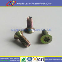 Made in China Cheap Cheese Head Coating Color Zinc Machine Screws