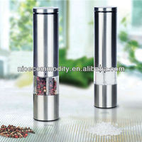 new style stainless steel electric salt and pepper mill