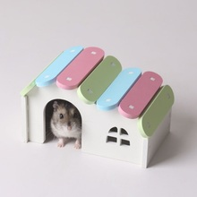 New design fashion luxury wholesale small hamster cages