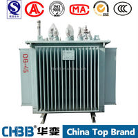 S11 series 1500kva 11/0.4kv oil-type electrical power transformer with testing report