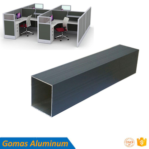 20mm to 60mm width Office Furniture workstation partition aluminum partition Foshan supplier best ton price