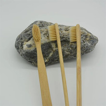 New Design Organic Private Label Bamboo Toothbrush Wholesale