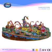 Wanle Reasonable Price Funfair Amusement Park Jurassic Rotating Dinosaurs for Sale