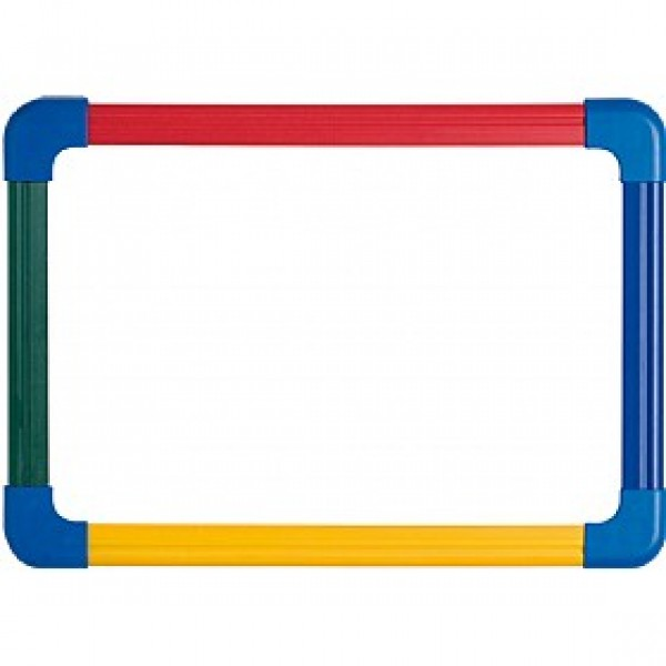 Dry Erase Magnetic Rainbow A3 size Framed lap Boards