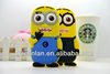 Custom lovely little Minion case / Despicable Me case for iphone 5c