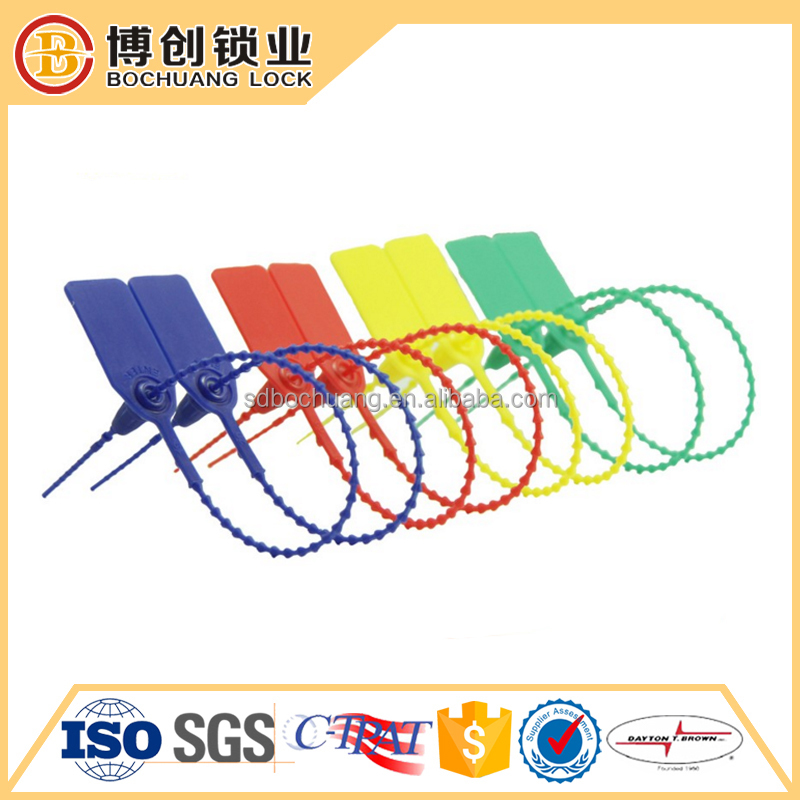 Disposable Container Seal Lock for Bank Security plastic seal