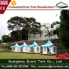 Relaxing lounge tent gazebo pagoda tent metal sturcture