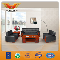 2015 new product luxury Office Sofa HY-S969