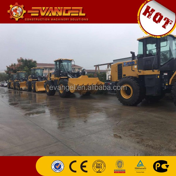 5Ton Hot sales small Wheel Loader LW500FV in Zambia