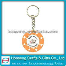 Excellent Quality custom die cut keychains