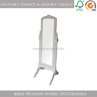 french standing dressing mirror