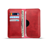 Mobile Accessories new product Classical Global Folio Leather wallet phone case With Card Slot for all phones