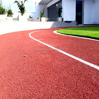 EPDM Granules Synthetic PU Running Track And Sprayed Rubber Flooring FN-E-16040607