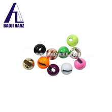 Beautiful wholesale tungsten ice fishing jig beads