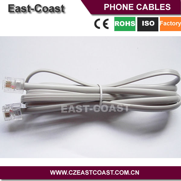 4 Wire Phone Cord - Dolgular.com