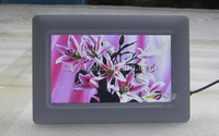 7 inch single digital photo frame for multiple languages with JPEG sex picture