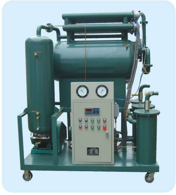 Purifuying water from oil Vacuum oil purifier ZL-20 for transform oil