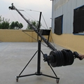 Professional Jimmy Jib Video Octagonal Camera Crane 8m With Pan Tilt Motorized Head