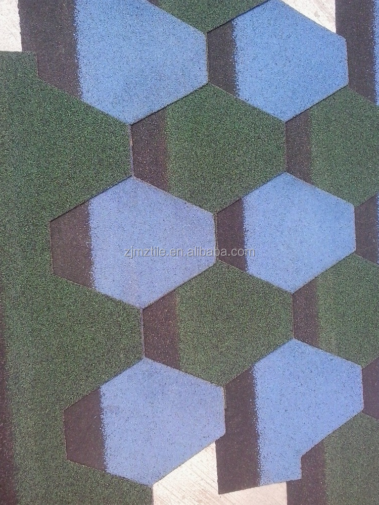 China factory supply america quality Mosaic roof tile/ asphalt shingles roof tiles
