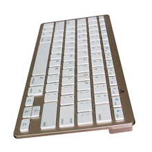 Hot Sale Brand new for apple macbook wireless bluetooth keyboard with aluminum color plating
