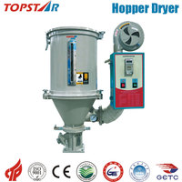 Hot Air Drying Hopper Plastic Pellets Dryer System