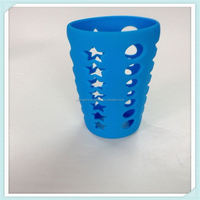 Cute Design Customized silicone rubber cup bottle sleeve for thermos rubber bushings Inner Tube,Tire Casing