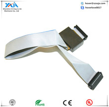 IDC 2.54 pitch flat ribbon cable socket lcd flex cable ribbon connector
