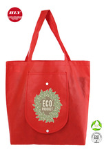 China Supplier Shopping Tote Non Woven Bag With Zipper & Pocket
