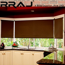 RRAJ Blackout Patio Roll up Roller Blinds