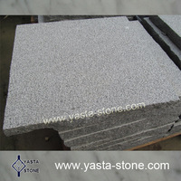 G654 Bush Hammered Grey Granite Tile