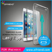 EASY APPLICATION ANTI-SCRATCH 0.33MM TEMPERED GLASS SCREEN PROTECTOR FOR IPAD MINI/IPAD AIR