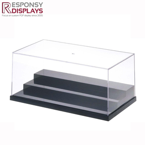 High quality customized clear acrylic cube box for general use
