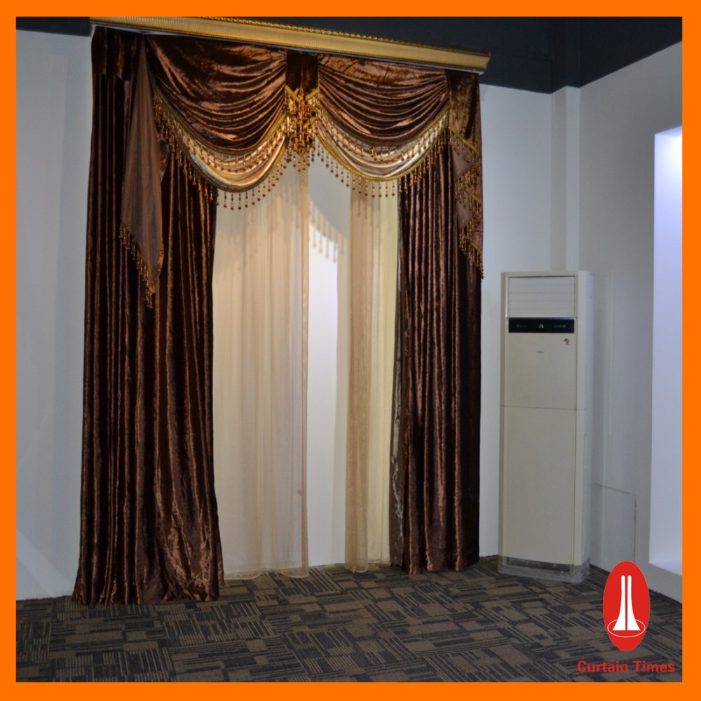 Curtain Times motorized retractable curtain by curtain manufacturer in guangzhou